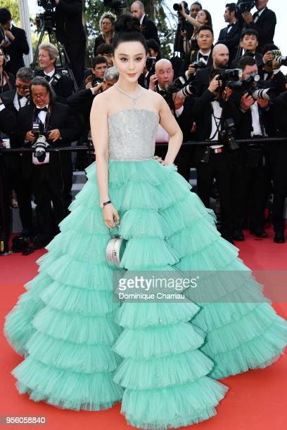 Fan Bing Bing attends the screening of Everybody Knows and the opening gala during the 71st annual Cannes Film Festival at Palais des Festivals on...