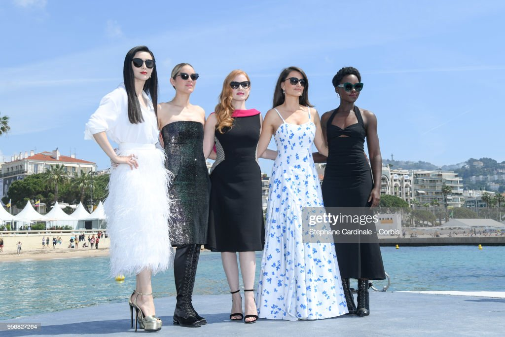 """355"" Photocall - The 71st Annual Cannes Film Festival : News Photo"