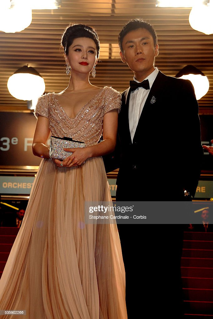 Fan BingBing and Qing Hao at the premiere of ?Chongqing Blues? during the 63rd Cannes International Film Festival.