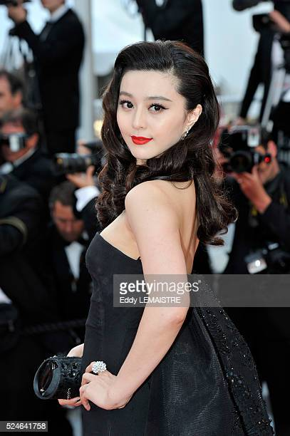 Fan Bingbing at the premiere of Of God and Men during the 63rd Cannes International Film Festival