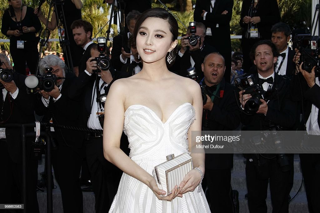 Fan Bingbing attends 'Biutiful' Premiere at the Palais des Festivals during the 63rd Annual Cannes Film Festival on May 17, 2010 in Cannes, France.