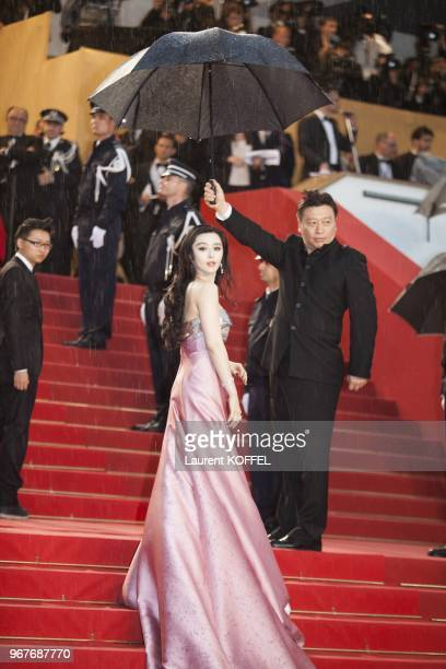 Fan Bingbing attends Electrolux at Opening Night of The 66th Annual Cannes Film Festival at the Theatre Lumiere on May 15 2013 in Cannes France