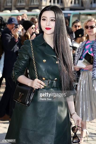 Fan Bingbing attends Louis Vuitton show as part of the Paris Fashion Week Womenswear Fall/Winter 20142015 on March 5 2014 in Paris France