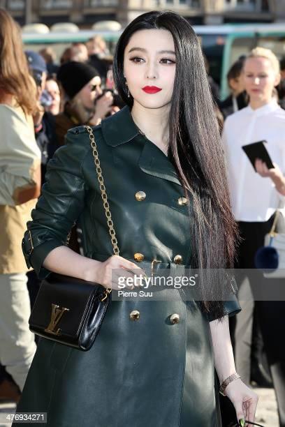 Fan Bingbing attends Louis Vuitton show as part of the Paris Fashion Week Womenswear Fall/Winter 20142015 on March 52014 in Paris France