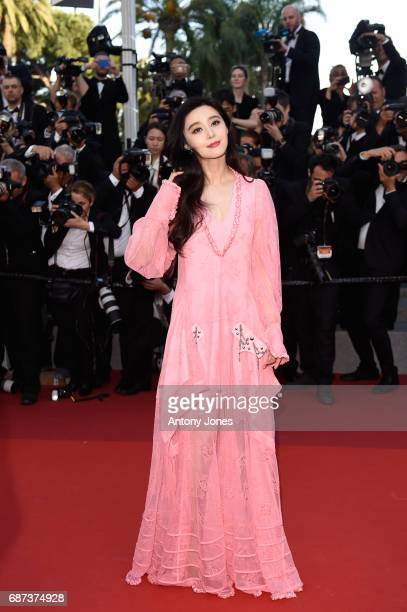 Fan Bingbing attends the 70th Anniversary of the 70th annual Cannes Film Festival at Palais des Festivals on May 23 2017 in Cannes France