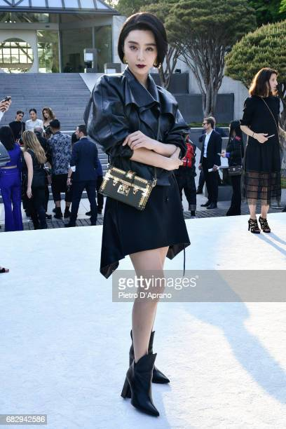 Fan Bingbing attends the Louis Vuitton Resort 2018 show at the Miho Museum on May 14 2017 in Koka Japan