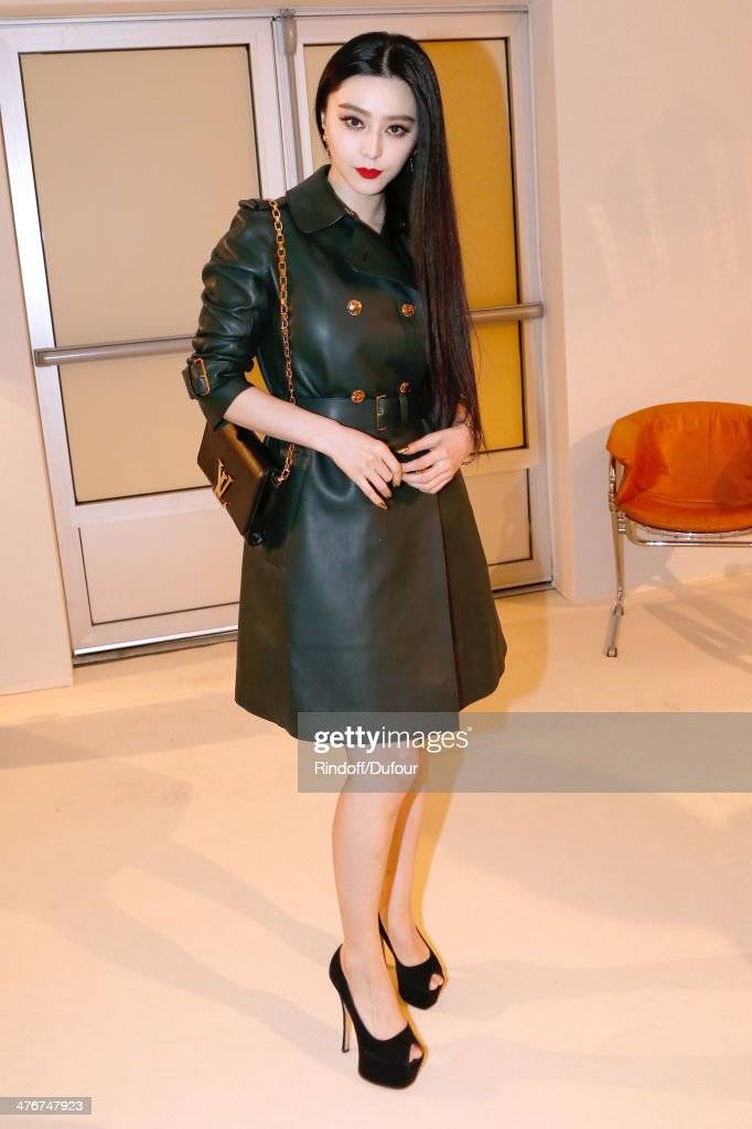Fan Bingbing attends the Louis Vuitton show as part of the Paris Fashion Week Womenswear Fall/Winter 2014-2015 on March 5, 2014 in Paris, France.