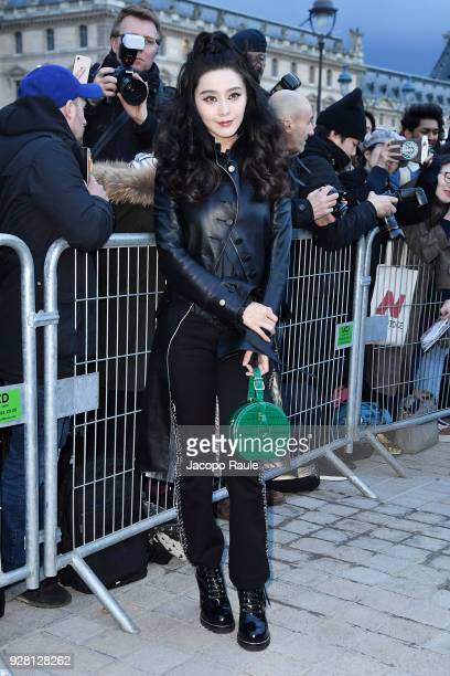 Fan Bingbing attends the Louis Vuitton show as part of the Paris Fashion Week Womenswear Fall/Winter 2018/2019 on March 6 2018 in Paris France
