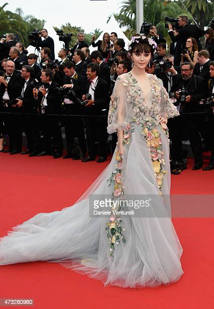 Fan Bingbing attends the Mad Max Fury Road Premiere during the 68th annual Cannes Film Festival on May 14 2015 in Cannes France
