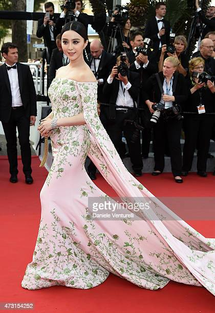 Fan Bingbing attends the opening ceremony and premiere of La Tete Haute during the 68th annual Cannes Film Festival on May 13 2015 in Cannes France