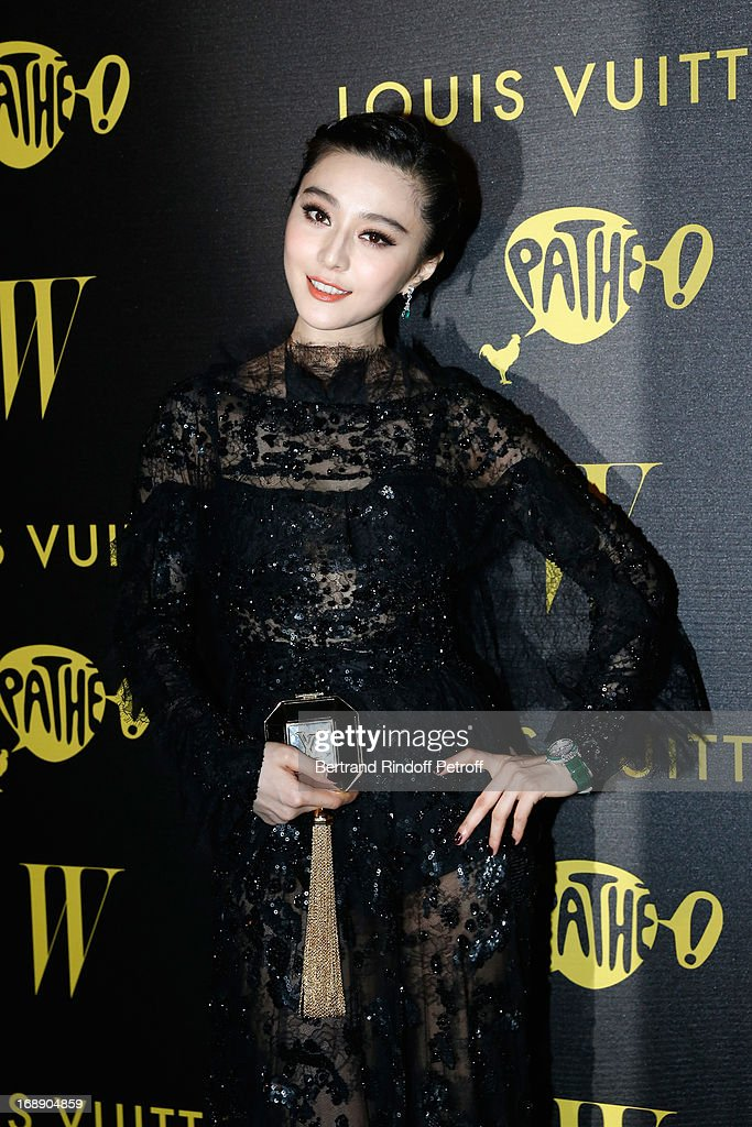 Fan Bingbing attends the photocall of The Bling Ring Party Hosted By Louis Vuitton during the 66th Annual Cannes Film Festival at Club d'Albane/Marriott on May 16, 2013 in Cannes, France.