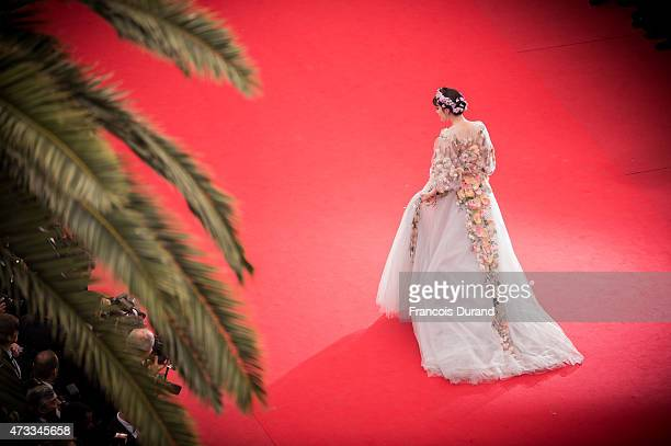 Fan Bingbing attends the Premiere of Mad Max Fury Road during the 68th annual Cannes Film Festival on May 14 2015 in Cannes France