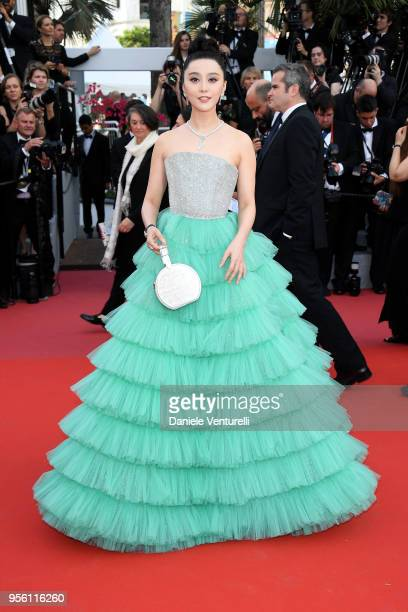 """Fan Bingbing attends the screening of """"Everybody Knows """" and the opening gala during the 71st annual Cannes Film Festival at Palais des Festivals on..."""