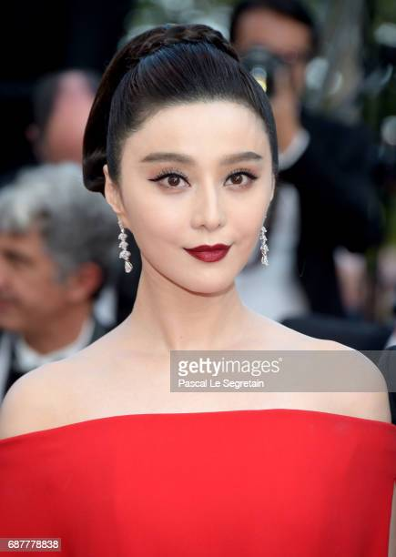Fan Bingbing attends the The Beguiled screening during the 70th annual Cannes Film Festival at Palais des Festivals on May 24 2017 in Cannes France