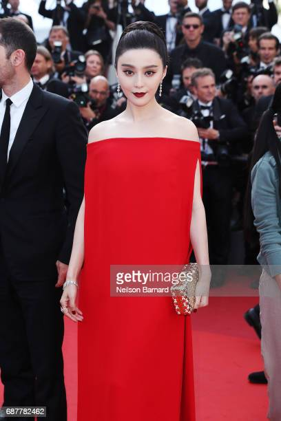"Fan Bingbing attends the ""The Beguiled"" screening during the 70th annual Cannes Film Festival at Palais des Festivals on May 24, 2017 in Cannes,..."