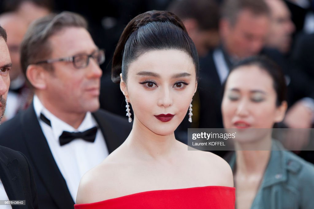 Fan Bingbing attends the 'The Beguiled' screening during the 70th annual Cannes Film Festival at Palais des Festivals on May 24, 2017 in Cannes, France.