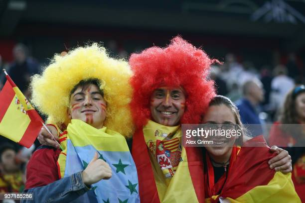 Fan Club National Team during the international friendly match between Germany and Spain at Esprit-Arena on March 23, 2018 in Duesseldorf, Germany.