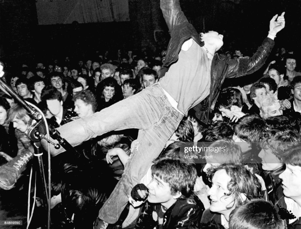 Photo of ROCK FANS and FANS and CROWDS and PUNKS, Rock Against Racism.