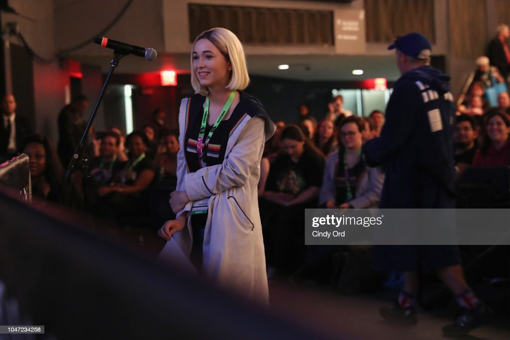 BBC America's Doctor Who Global Premiere At New York Comic Con : News Photo