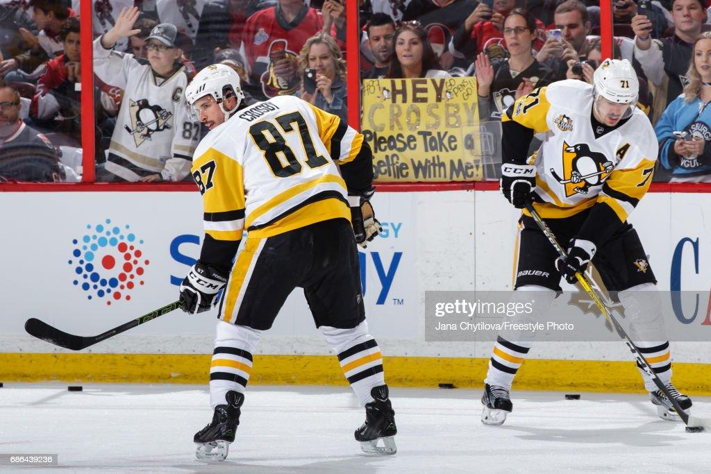 Pittsburgh Penguins v Ottawa Senators - Game Four : ニュース写真