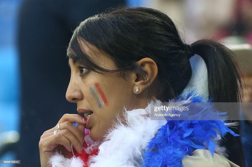 France v Belgium : Semi Final - 2018 FIFA World Cup : News Photo