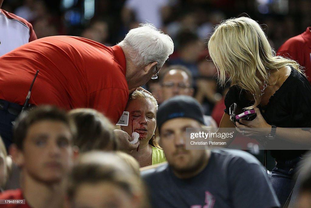 Toronto Blue Jays v Arizona Diamondbacks : News Photo