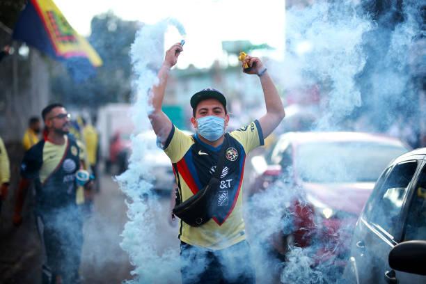 MEX: America v Pachuca - Playoffs Torneo Guard1anes 2021 Liga MX