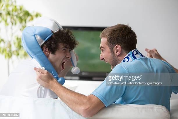 Fan of Argentina Cebrating
