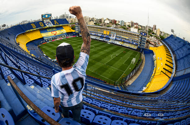 ARG: Boca Juniors v Newell's Old Boys - Copa Diego Maradona 2020