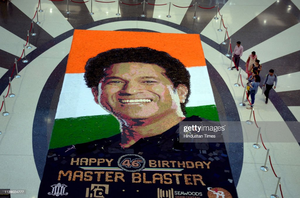 IND: Sachin Tendulkar's 46th Birthday