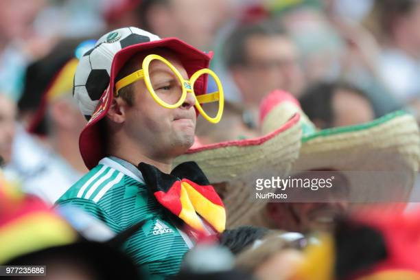 Fan of German National tean before a Group F 2018 FIFA World Cup soccer match between Germany and Mexico on June 16 at the Kazan Arena in Kazan Russia