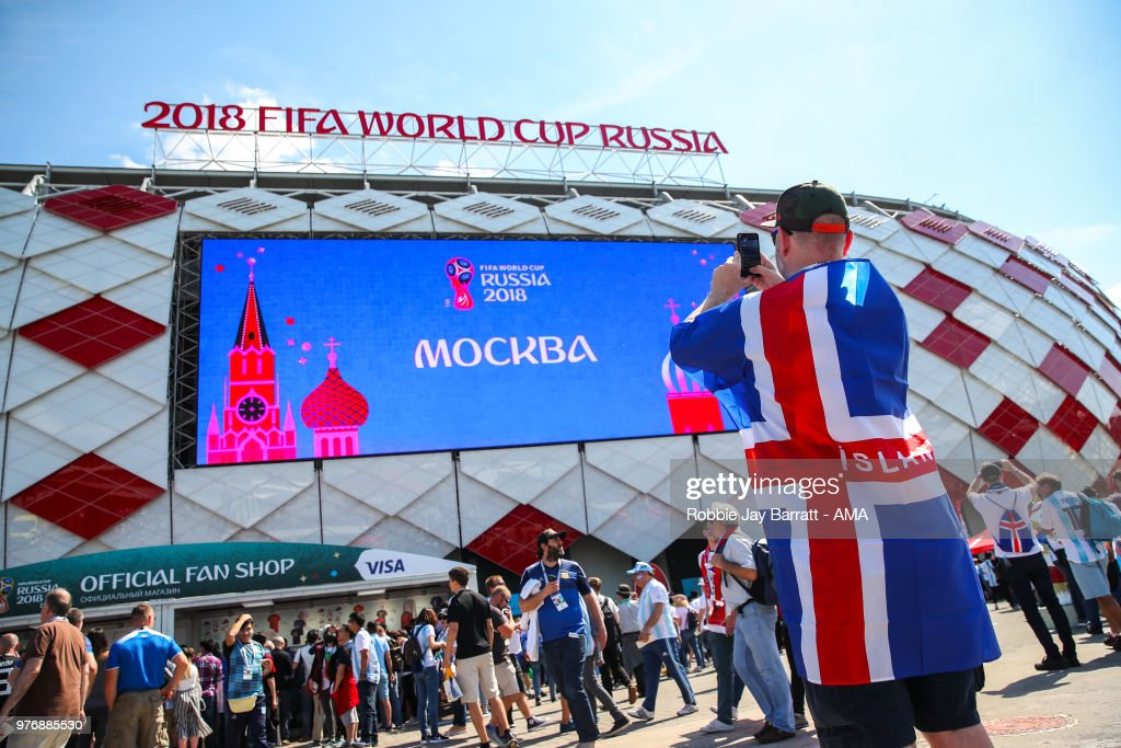 Argentina v Iceland: Group D - 2018 FIFA World Cup Russia : ニュース写真