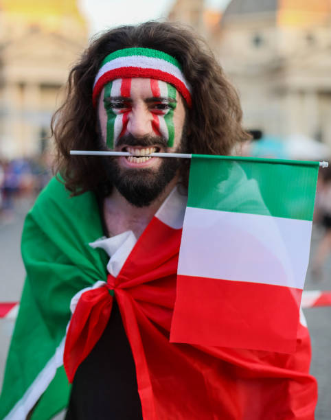 ITA: Fans in Rome watch the UEFA Euro 2020 match between Italy and Spain
