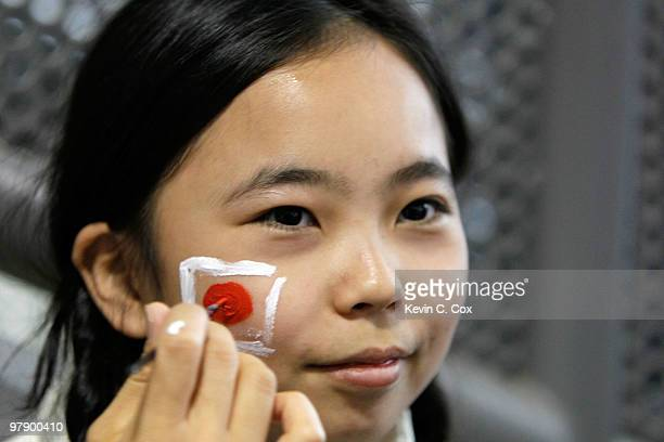 World S Best Canada Day Face Paint Stock Pictures Photos
