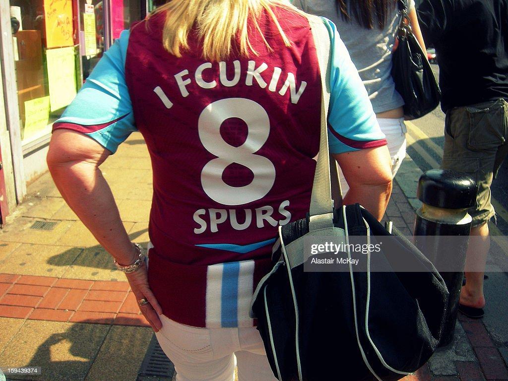 I Fcukin 8 Spurs : News Photo