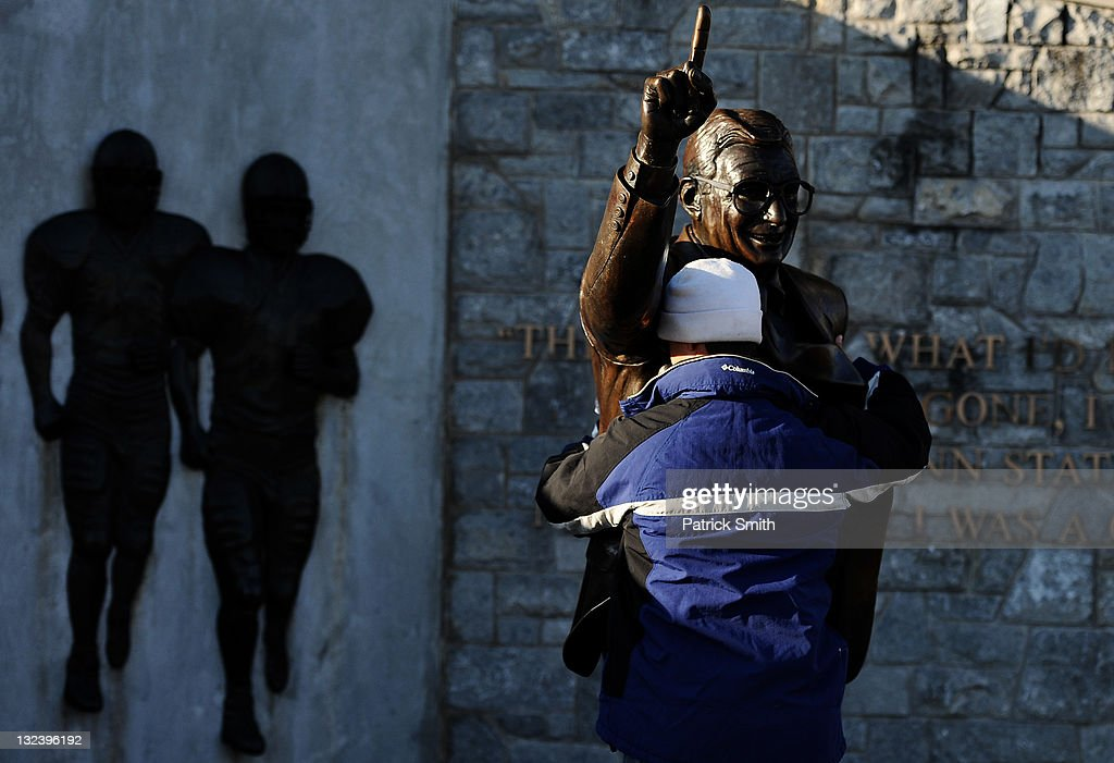 Penn State Hosts First Football Game Since Child Sex Abuse Scandal : News Photo