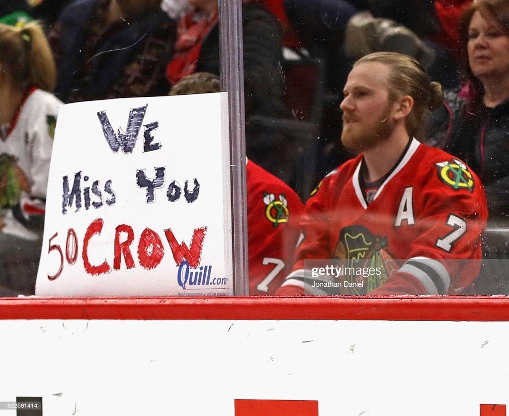 Ottawa Senators v Chicago Blackhawks : News Photo