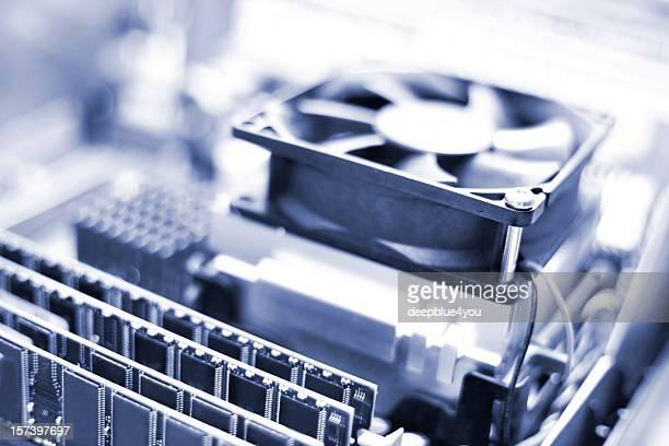 CPU, Fan & RAM - open PC