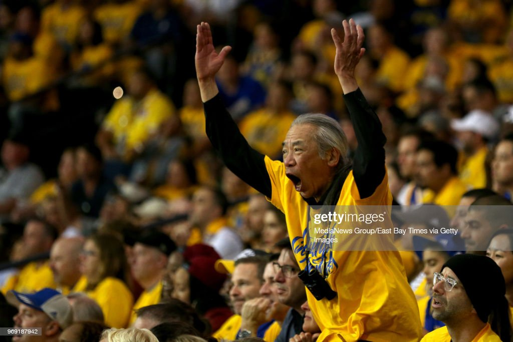 NBA Finals Game 2 Warriors vs. Cavaliers : News Photo