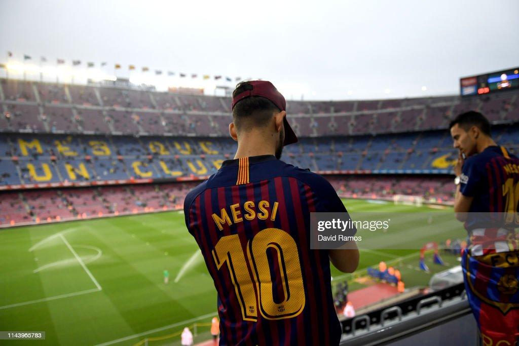 ESP: FC Barcelona v Real Sociedad - La Liga