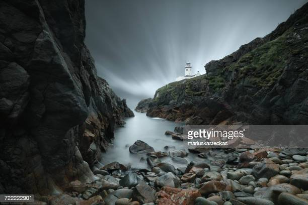 Fanad head lighthouse at night, Co. Donegal, Ireland