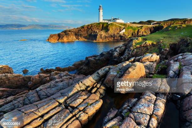 Fanad Head Lighthouse, Ireland, early evening in spring