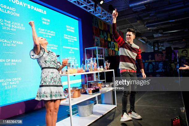BRAVOCON Fancy AF Cocktails with Tom and Ariana Panel at Union West in New York City on Sunday November 17 2019 Pictured Ariana Madix Tom Sandoval