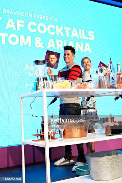 BRAVOCON Fancy AF Cocktails with Tom and Ariana Panel at Union West in New York City on Sunday November 17 2019 Pictured Tom Sandoval Ariana Madix
