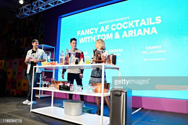 BRAVOCON Fancy AF Cocktails with Tom and Ariana Panel at Union West in New York City on Sunday November 17 2019 Pictured Danny Pellegrino Tom...