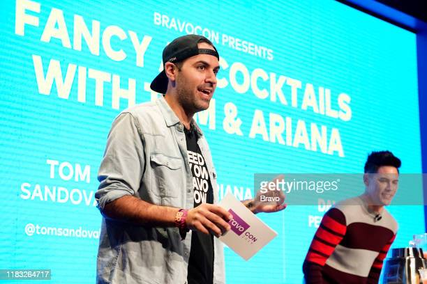 BRAVOCON Fancy AF Cocktails with Tom and Ariana Panel at Union West in New York City on Sunday November 17 2019 Pictured Danny Pellegrino Tom Sandoval