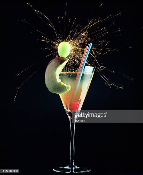 Fancy alcoholic drink