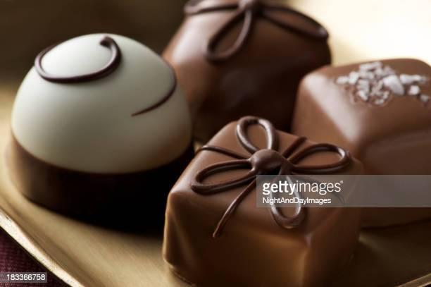 Fancy truffes au chocolat