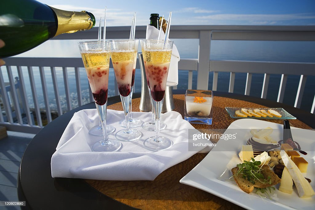 Fancy cocktail : Stock Photo