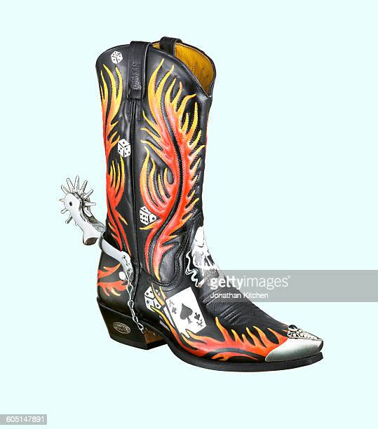 Cowboy Boots Spurs Stock Photos And Pictures Getty Images
